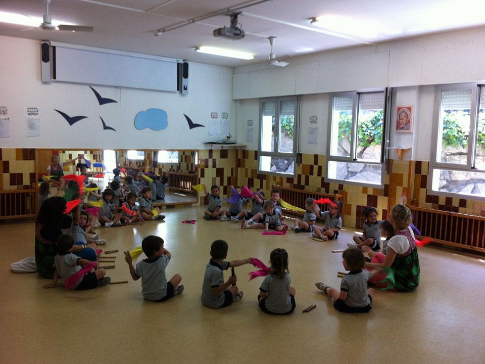 Exemple de sessions extraescolars a CEIP'S